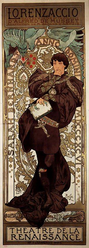 Lorenzaccio 1896 | Alphonse Mucha | Oil Painting