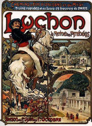 Luchon 1895 | Alphonse Mucha | Oil Painting