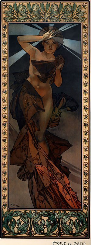 Morning Star 1902 | Alphonse Mucha | Oil Painting