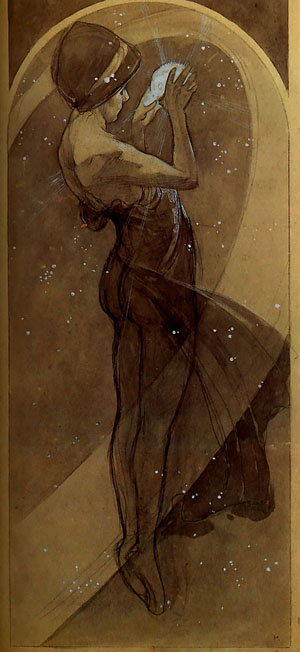 North Star 1902 | Alphonse Mucha | Oil Painting