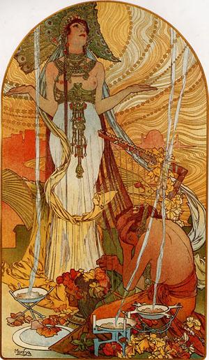 Salammbo 1896 | Alphonse Mucha | Oil Painting