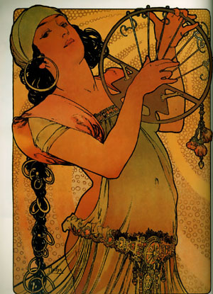 Salome 1897 | Alphonse Mucha | Oil Painting