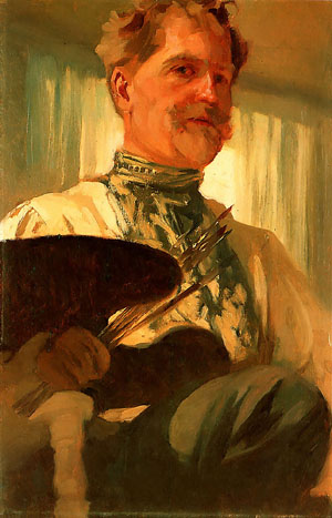 Self Portrait 1907 | Alphonse Mucha | Oil Painting