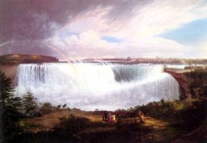 The Great Horseshoe Falls | Alvan Fisher | Oil Painting