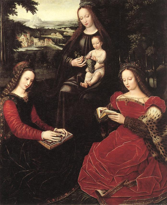 Virgin and Child with Saints | Ambrosius Benson | Oil Painting