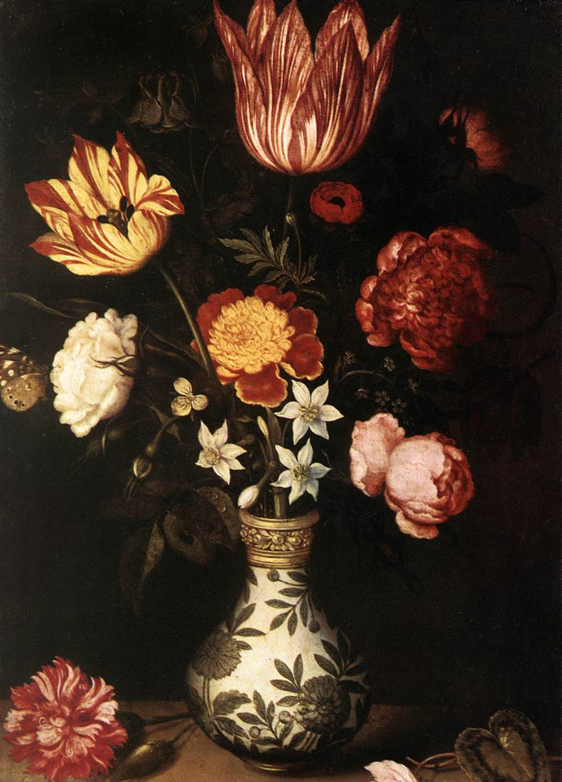 Flower Piece | Ambrosius The Elder Bosschaert | Oil Painting