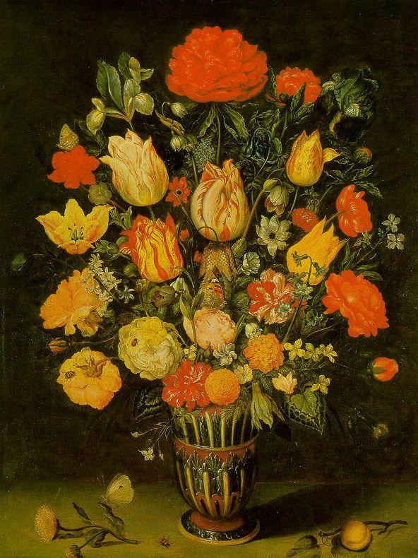 Still Life Of Flowers | Ambrosius The Elder Bosschaert | Oil Painting