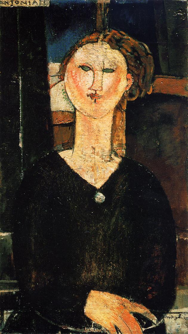 Antonia 1915 | Amedeo Modigliani | Oil Painting