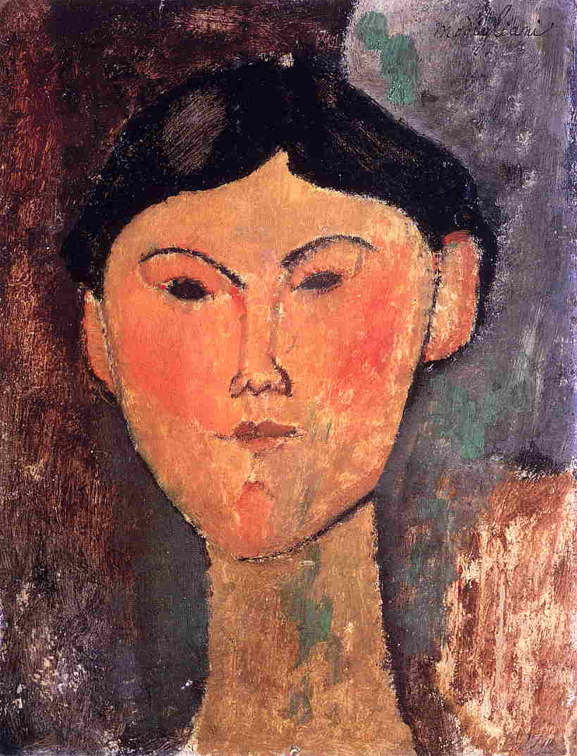 Beatrice Hastings 1915 | Amedeo Modigliani | Oil Painting
