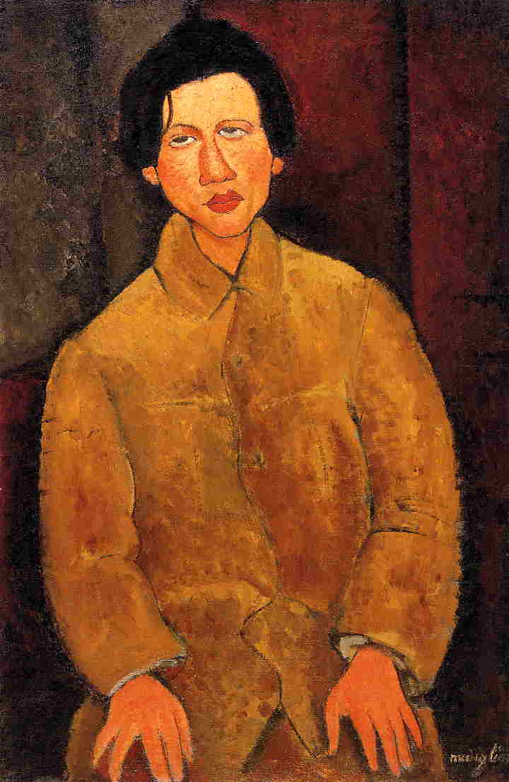 Chaim Soutine 1916 | Amedeo Modigliani | Oil Painting