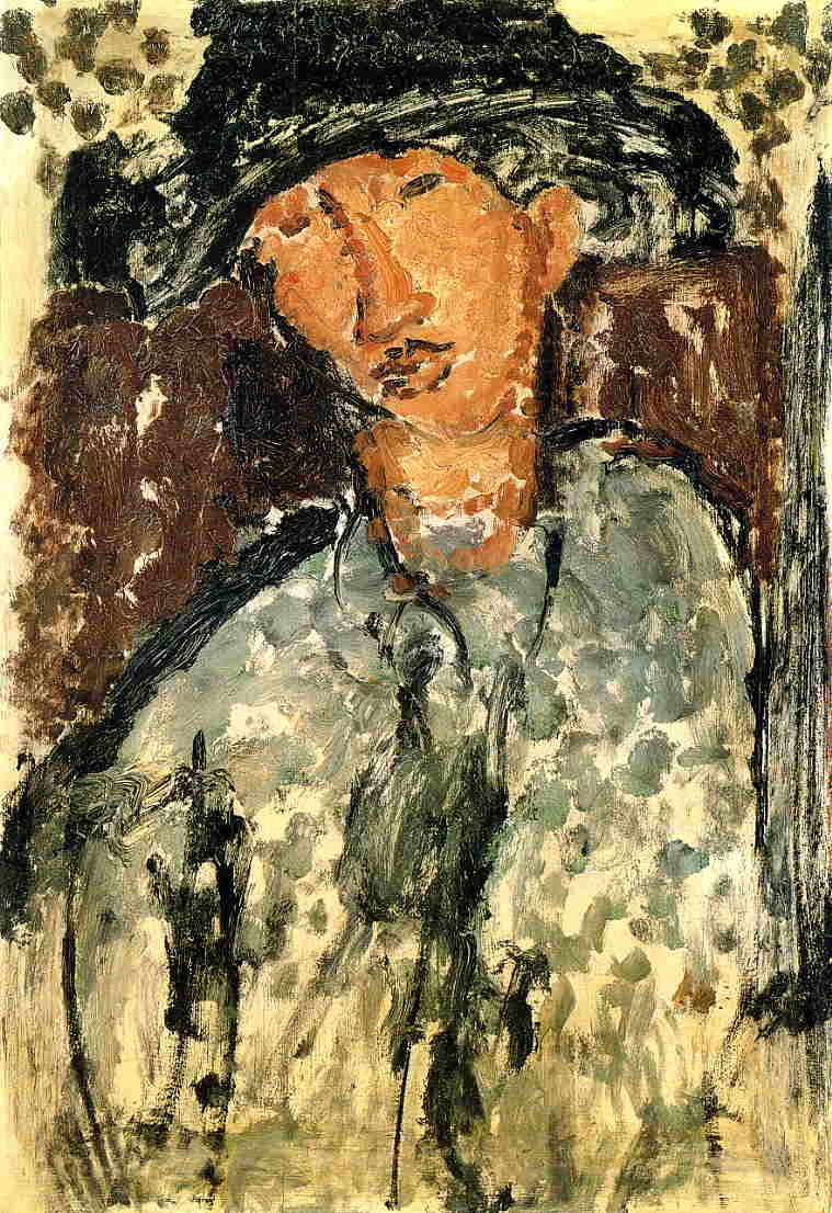 Chaim Soutine 1917 | Amedeo Modigliani | Oil Painting