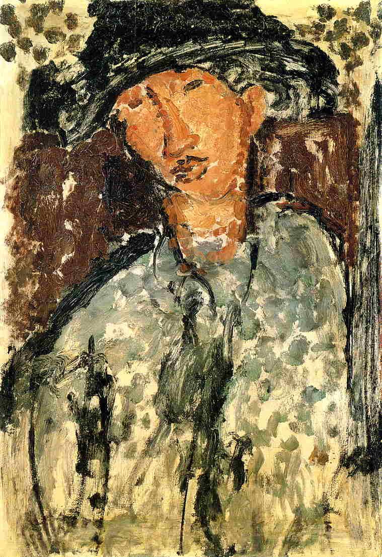 Chaim Soutine 1917 | Amedeo Modigliani | Oil Painting