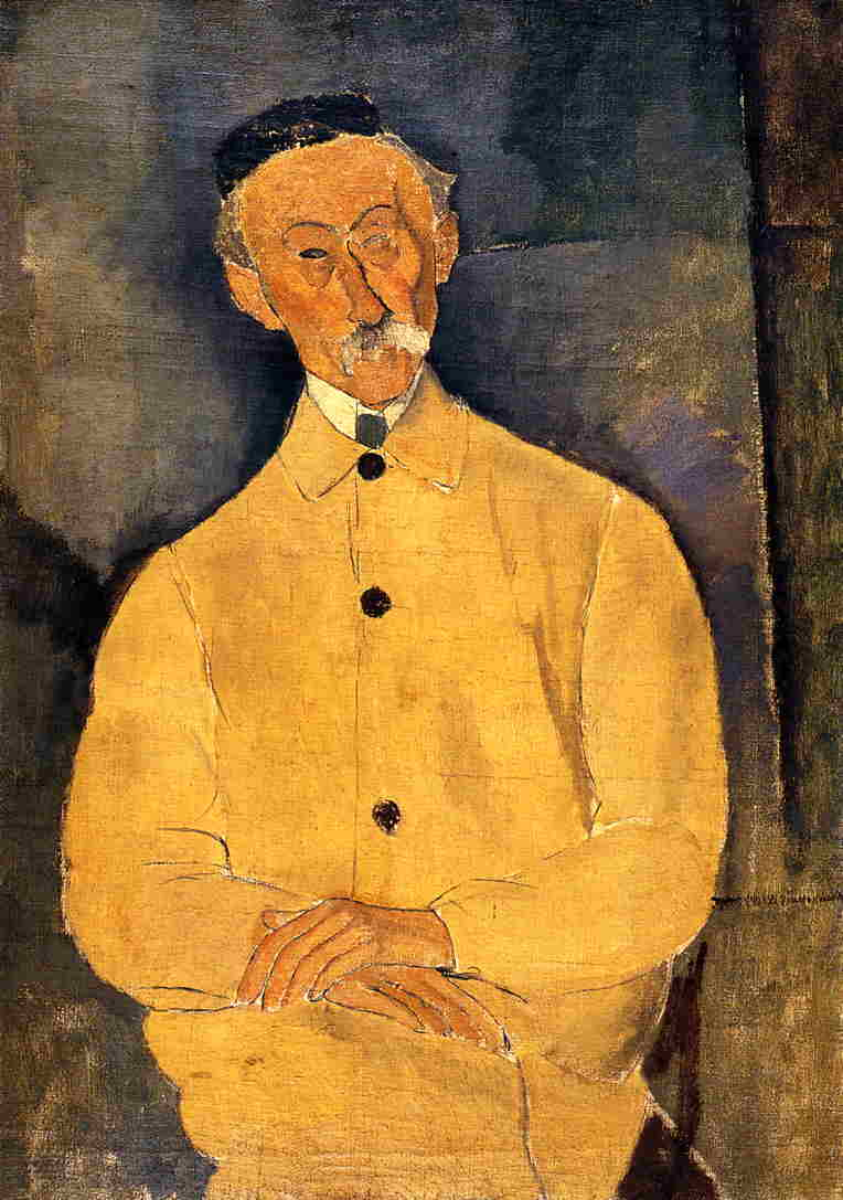 Constant Leopold 1917 | Amedeo Modigliani | Oil Painting