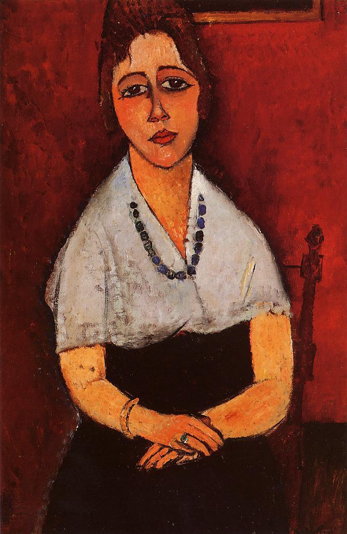Elena Picard 1917 | Amedeo Modigliani | Oil Painting