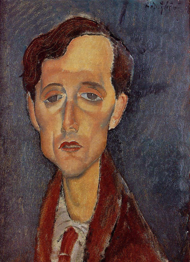 Frans Hellens 1919 | Amedeo Modigliani | Oil Painting
