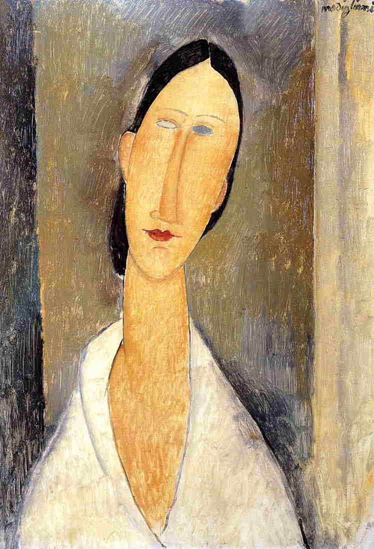 Hanka Zborowska 1919 | Amedeo Modigliani | Oil Painting