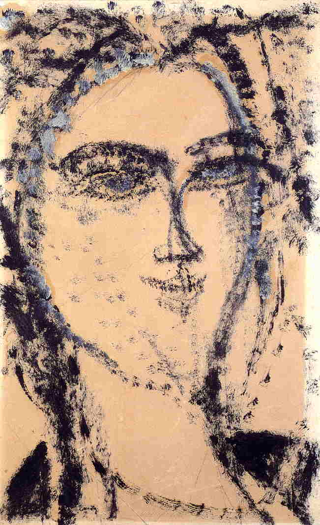 Head 1915 | Amedeo Modigliani | Oil Painting