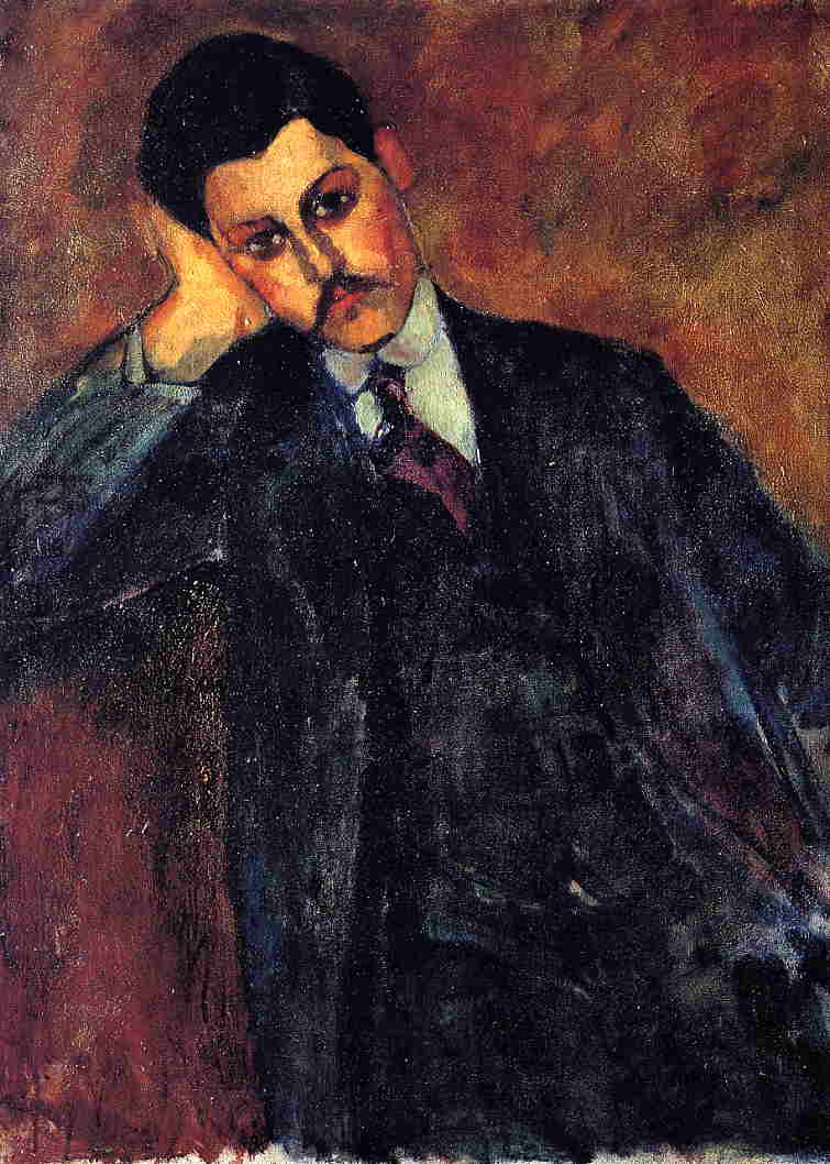 Jean Alexandre 1909 | Amedeo Modigliani | Oil Painting
