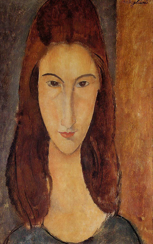 Jeanne Hebuterne 1917 1918 | Amedeo Modigliani | Oil Painting