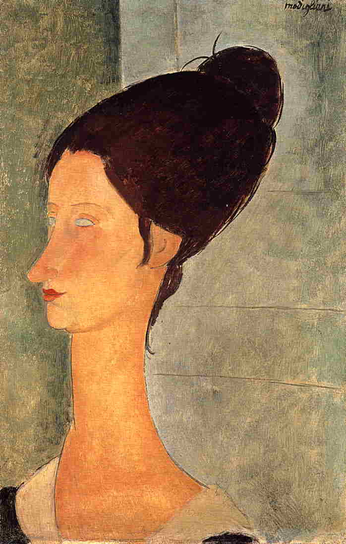 Jeanne Hebuterne 1918 | Amedeo Modigliani | Oil Painting