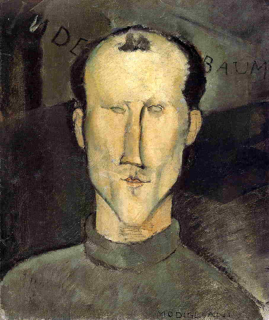 Leon Indenbaum 1915 | Amedeo Modigliani | Oil Painting