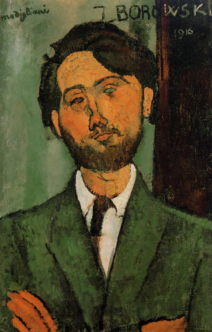 Leopold Zborowski 1916 | Amedeo Modigliani | Oil Painting