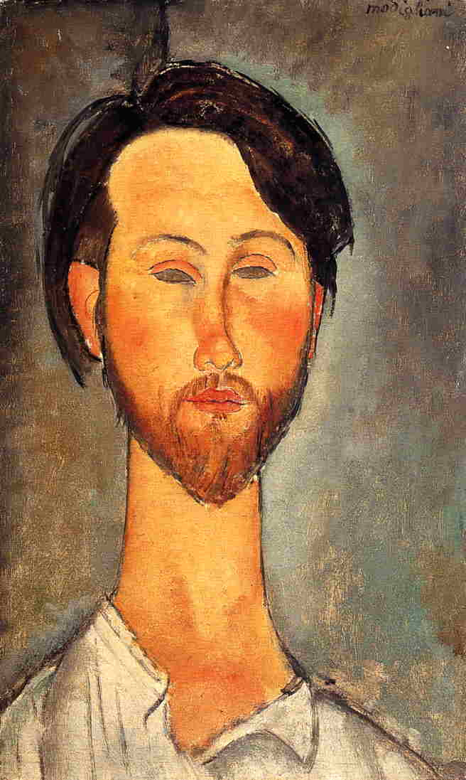Leopold Zborowski 1918 | Amedeo Modigliani | Oil Painting