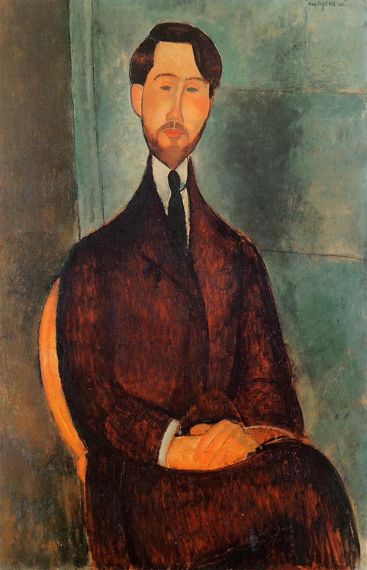 Leopold Zborowski 1919 | Amedeo Modigliani | Oil Painting
