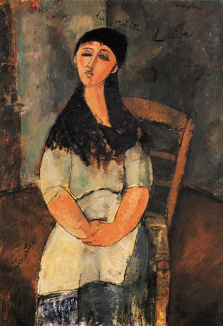 Little Louise 1915 | Amedeo Modigliani | Oil Painting