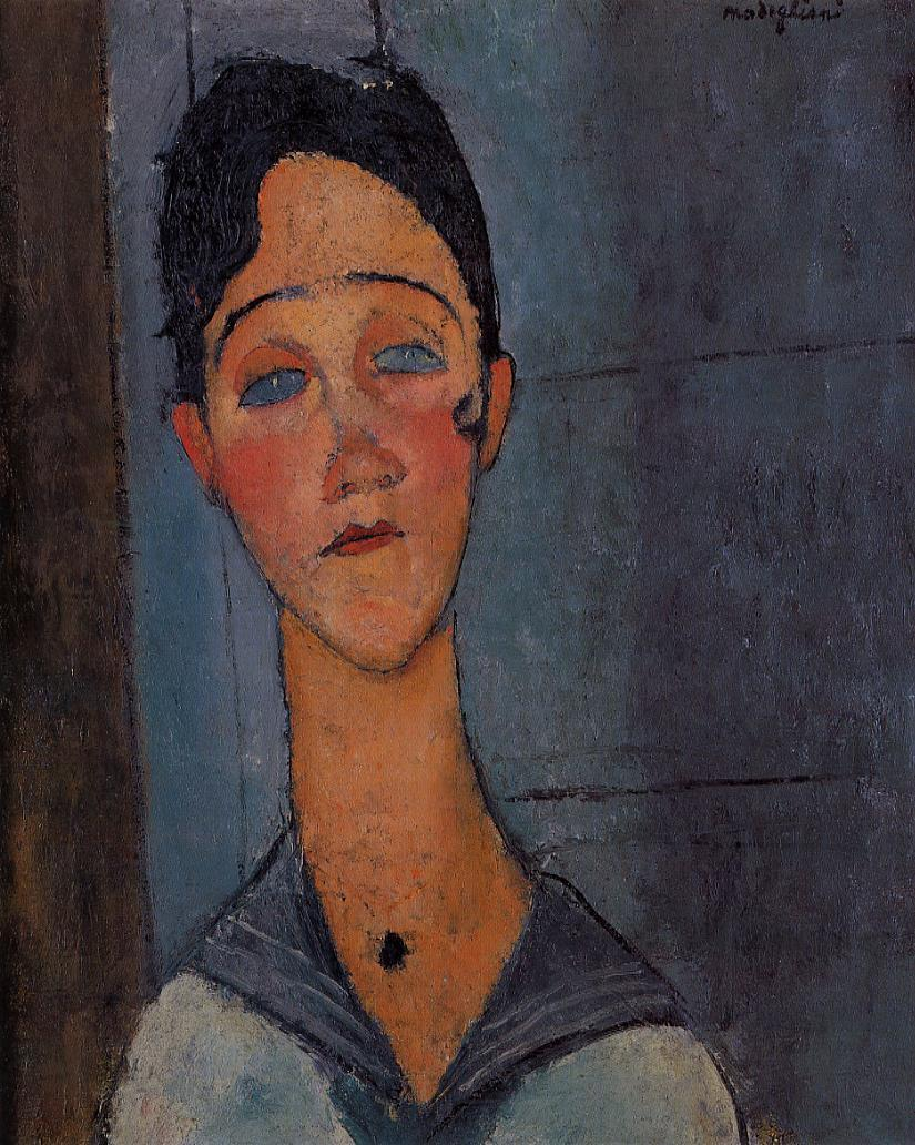 Louise 1917 | Amedeo Modigliani | Oil Painting