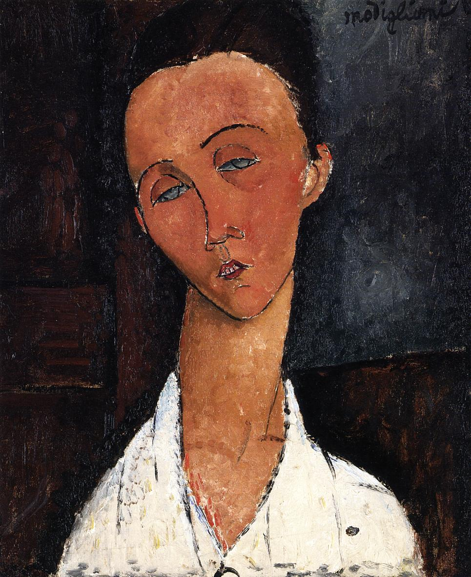 Lunia Czechowska 1917 1918 | Amedeo Modigliani | Oil Painting