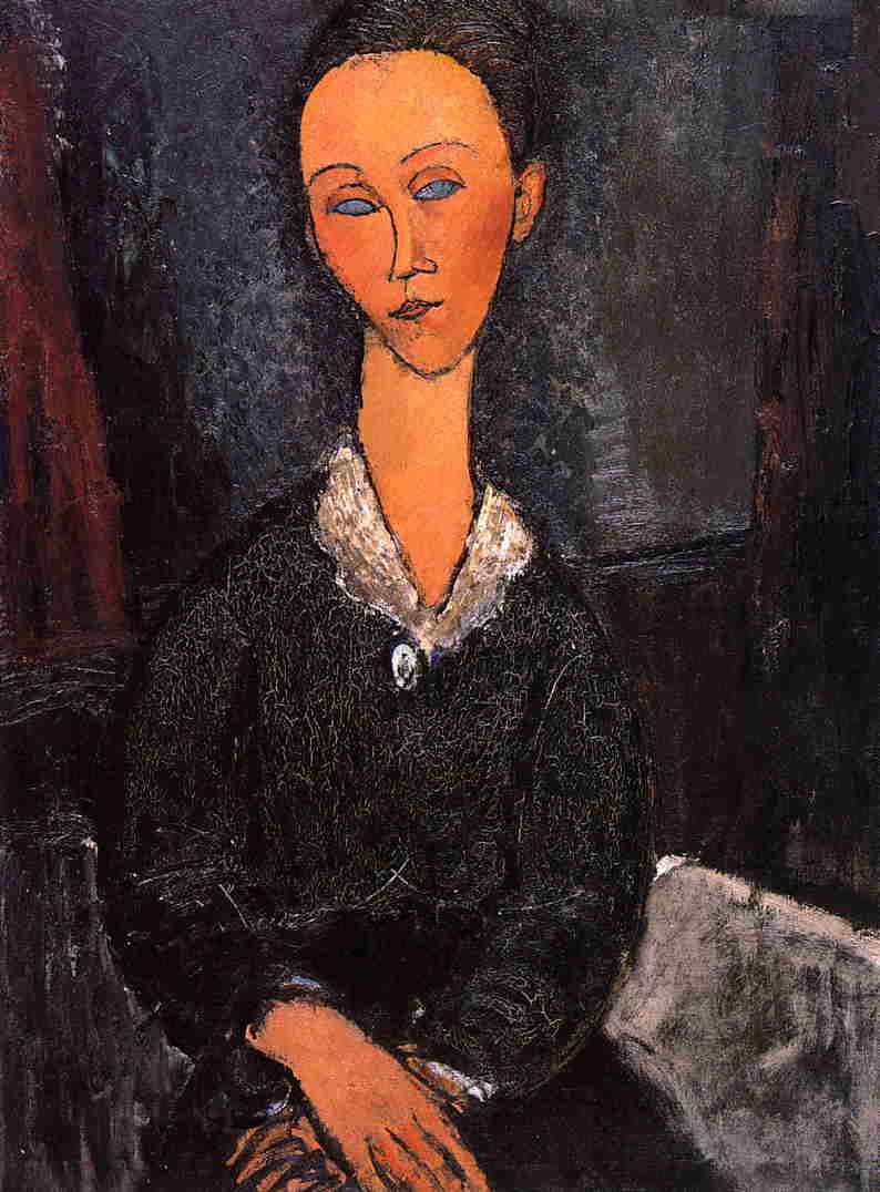 Lunia Czechowska 1917 | Amedeo Modigliani | Oil Painting