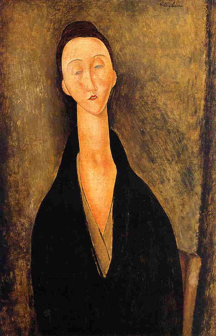 Lunia Czechowska 1919 | Amedeo Modigliani | Oil Painting