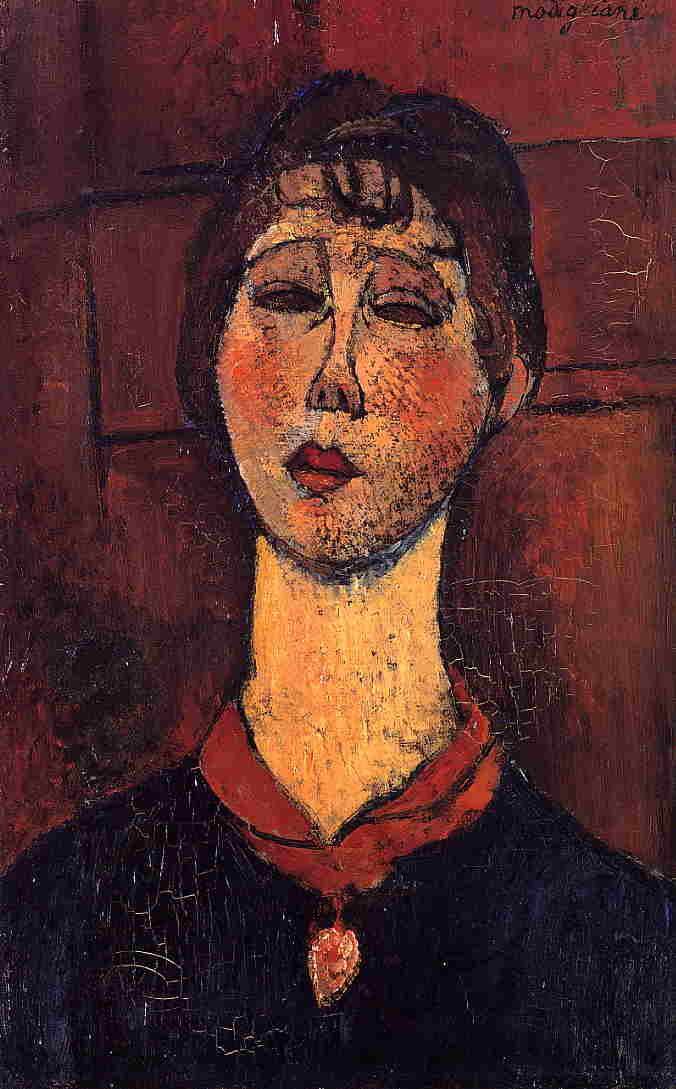 Madame Dorival 1916 | Amedeo Modigliani | Oil Painting