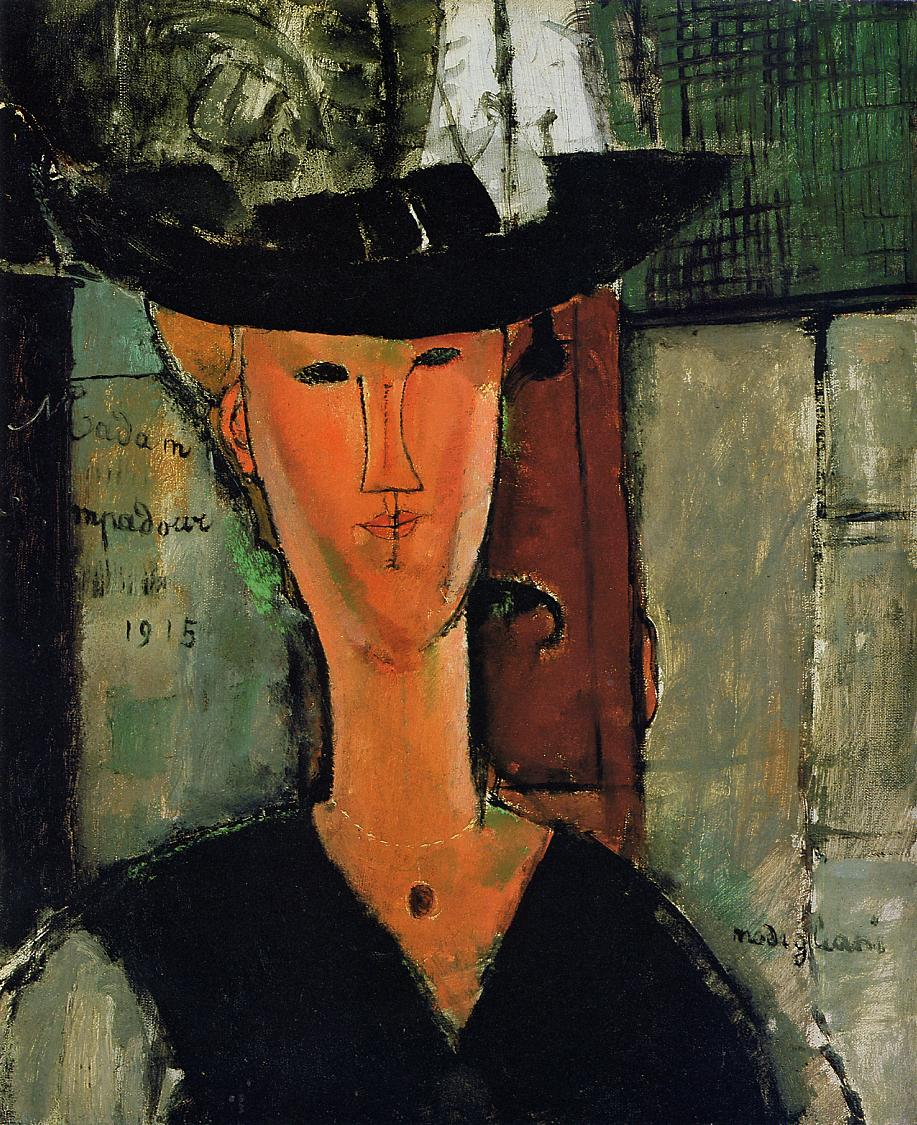 Madame Pompador 1915 | Amedeo Modigliani | Oil Painting