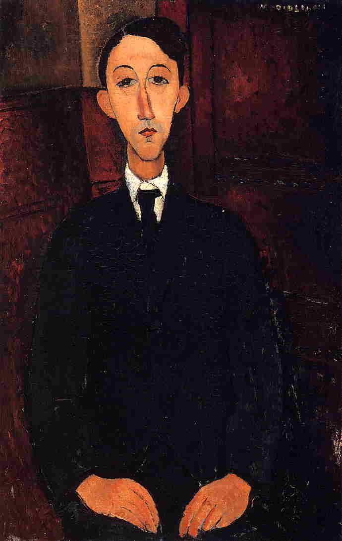 Manuel Humberg Esteve 1916 | Amedeo Modigliani | Oil Painting