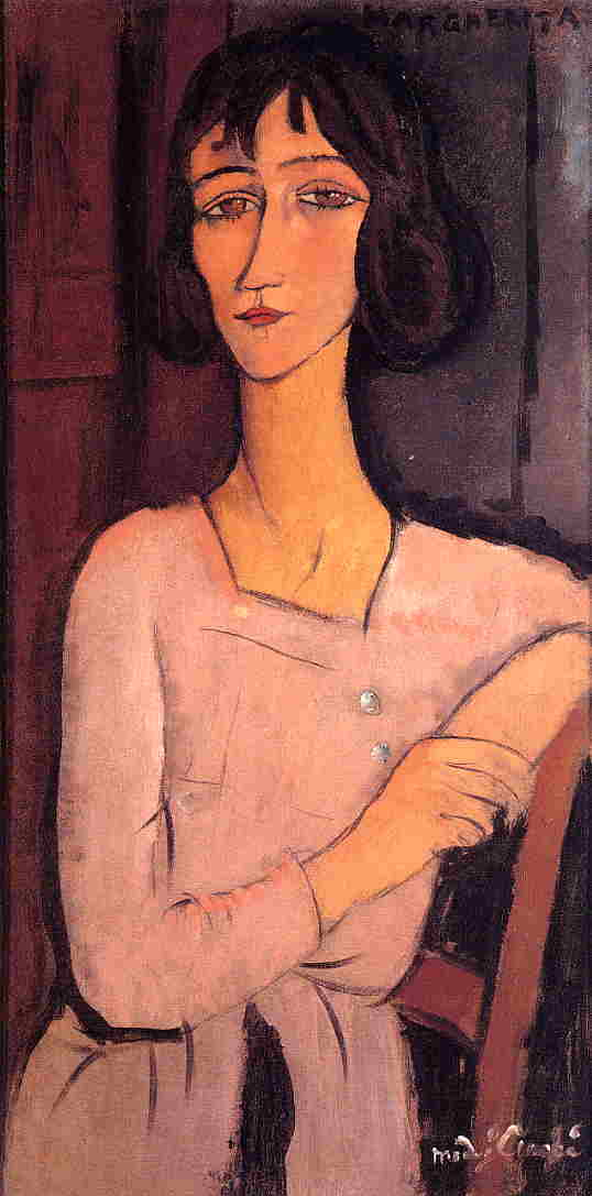 Marguerite Seated 1916 | Amedeo Modigliani | Oil Painting