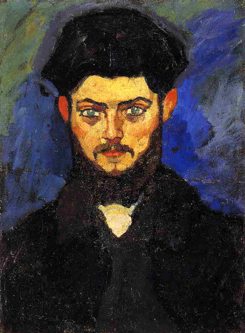 Maurice Drouard 1909 | Amedeo Modigliani | Oil Painting