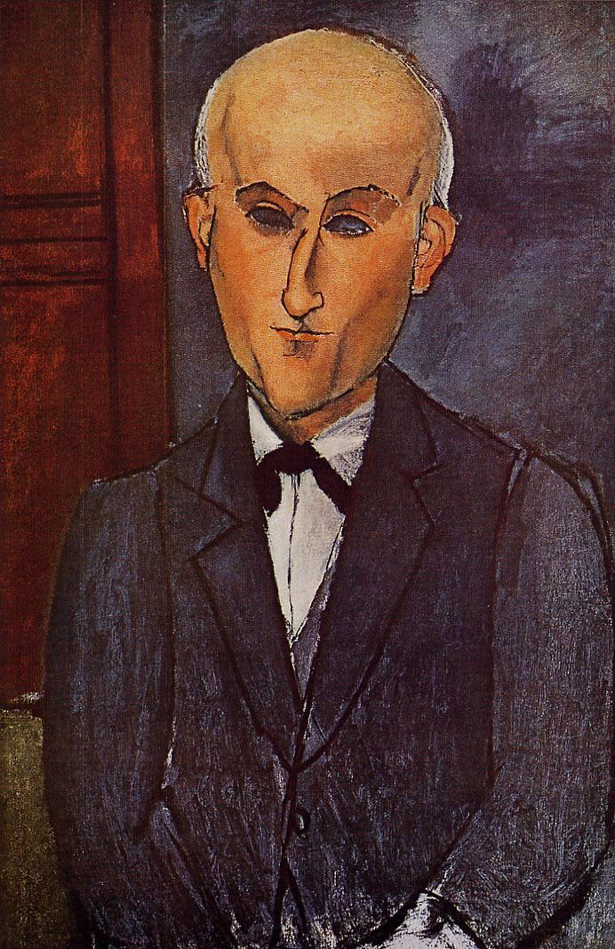 Max Jacob 1916 | Amedeo Modigliani | Oil Painting
