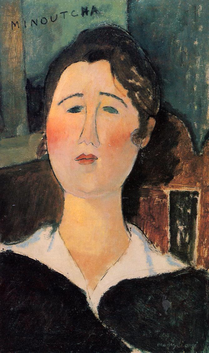 Minoutcha 1917 | Amedeo Modigliani | Oil Painting