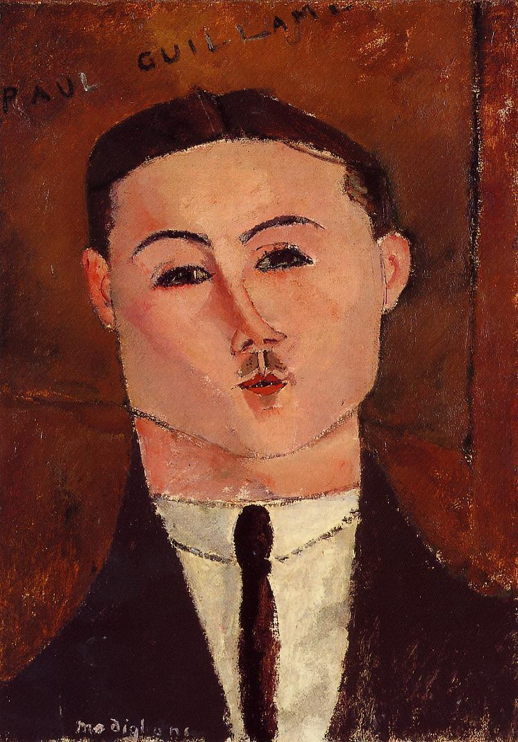 Paul Guillaume 1916 | Amedeo Modigliani | Oil Painting