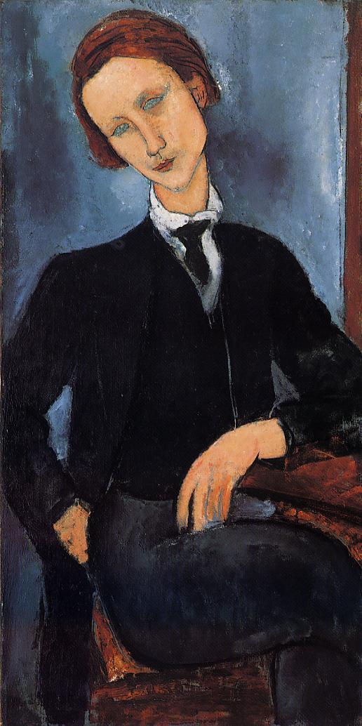 Pierre Edouard Baranowski 1918 | Amedeo Modigliani | Oil Painting