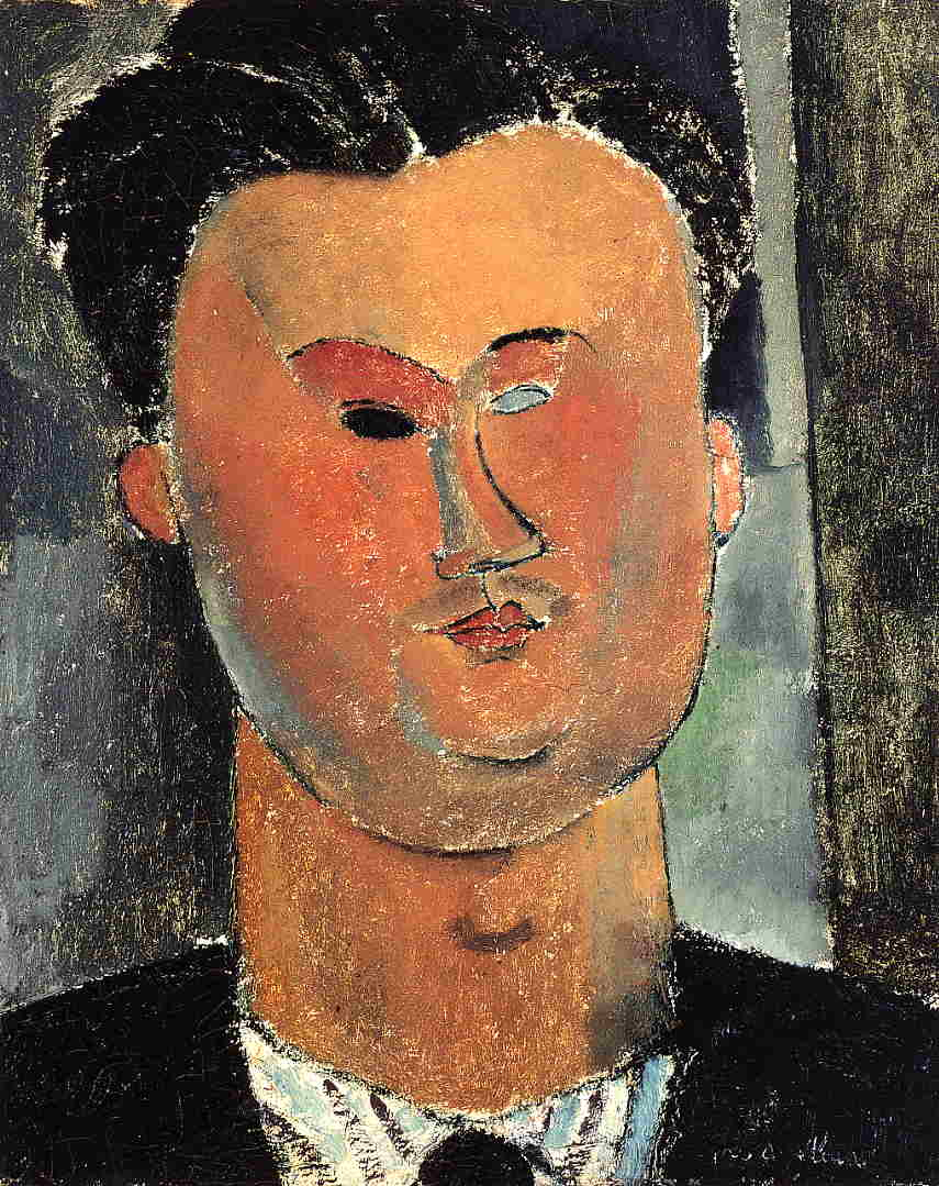 Pierre Reverdy 1915 | Amedeo Modigliani | Oil Painting