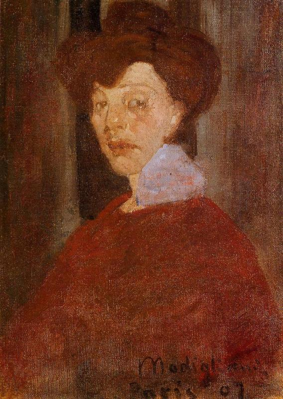 Portrait of a Woman 1907 | Amedeo Modigliani | Oil Painting