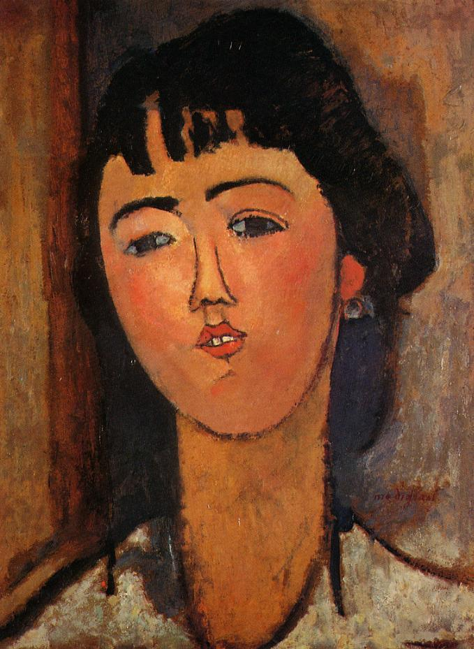 Portrait of a Woman 1915 2 | Amedeo Modigliani | Oil Painting
