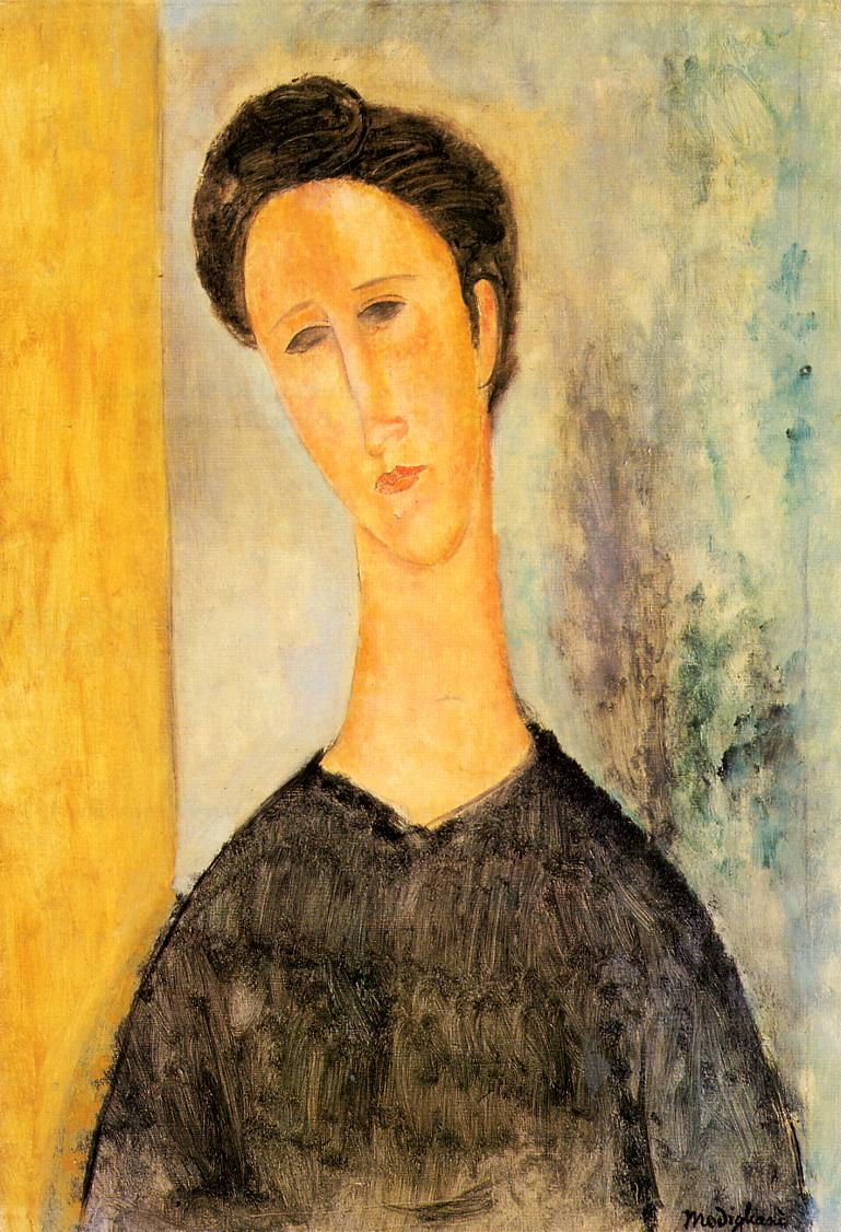 Portrait of a Woman | Amedeo Modigliani | Oil Painting