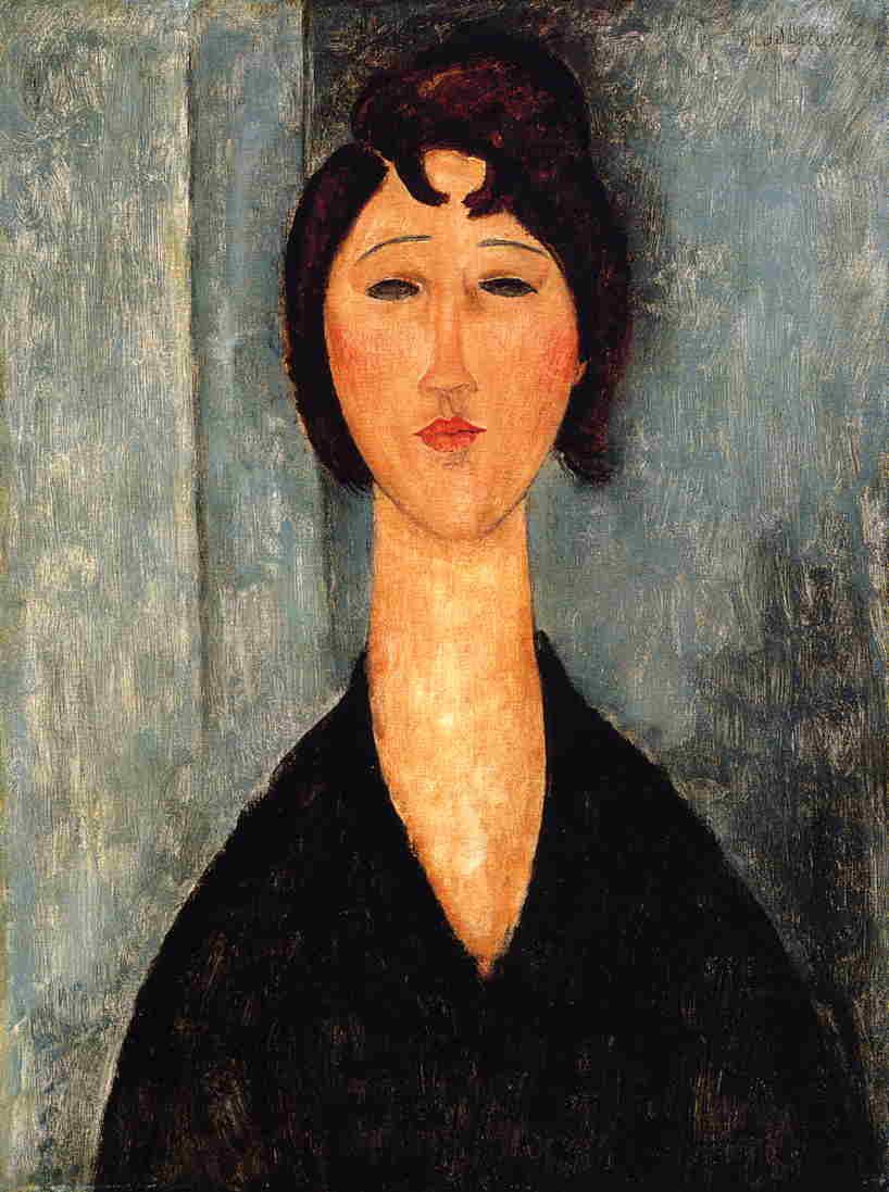 Portrait of a Young Woman 1918 1919 | Amedeo Modigliani | Oil Painting