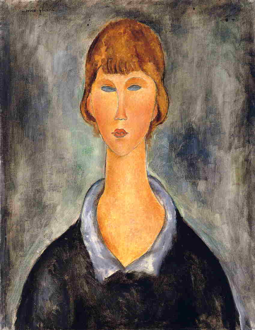 Portrait of a Young Woman 1919 | Amedeo Modigliani | Oil Painting