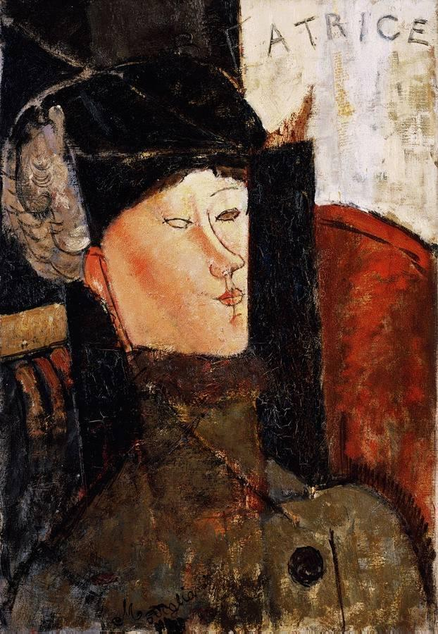Portrait of Beatrice Hastings 1916 | Amedeo Modigliani | Oil Painting