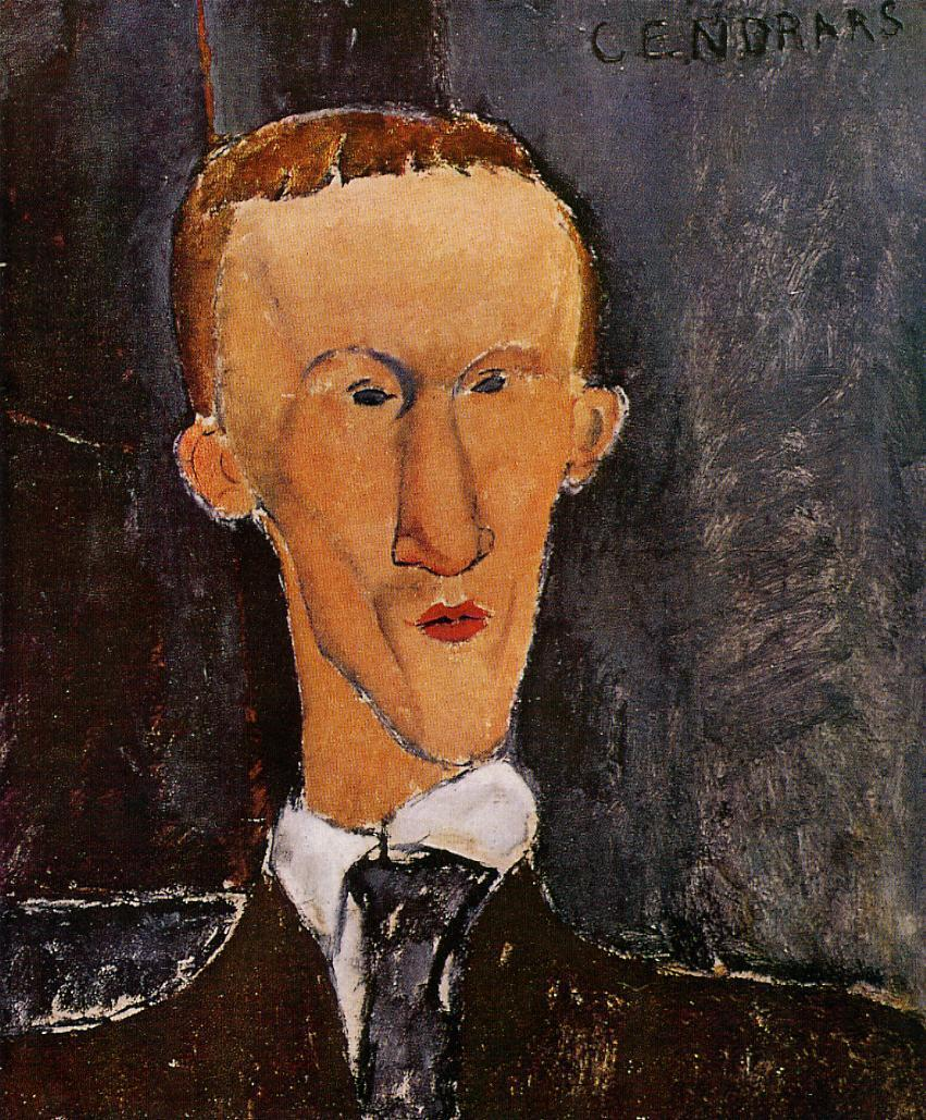 Portrait of Blaise Cendrars 1917 | Amedeo Modigliani | Oil Painting